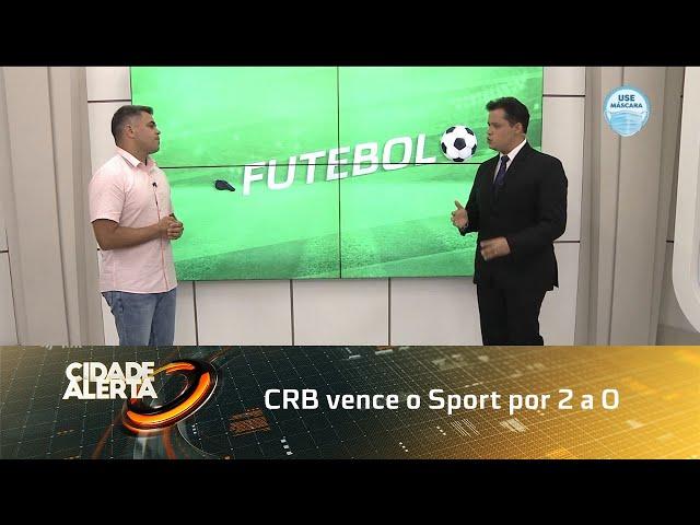 Futebol: CRB vence o Sport por 2 a 0