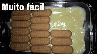 pav simples de biscoito de maizena cozinhando com a juuh