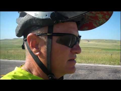 bicycling across America, Wyoming
