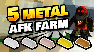 How to AFK Farm Gold, Bronze, Copper, Steel, Iron & Coal from 1 Chest in Roblox Islands