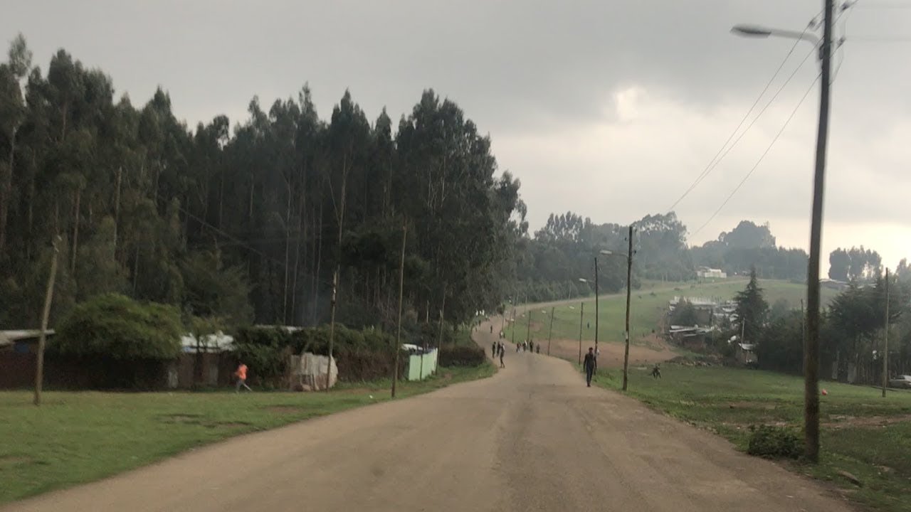 A Trip on the Outskirts of Addis Ababa, Ethiopia
