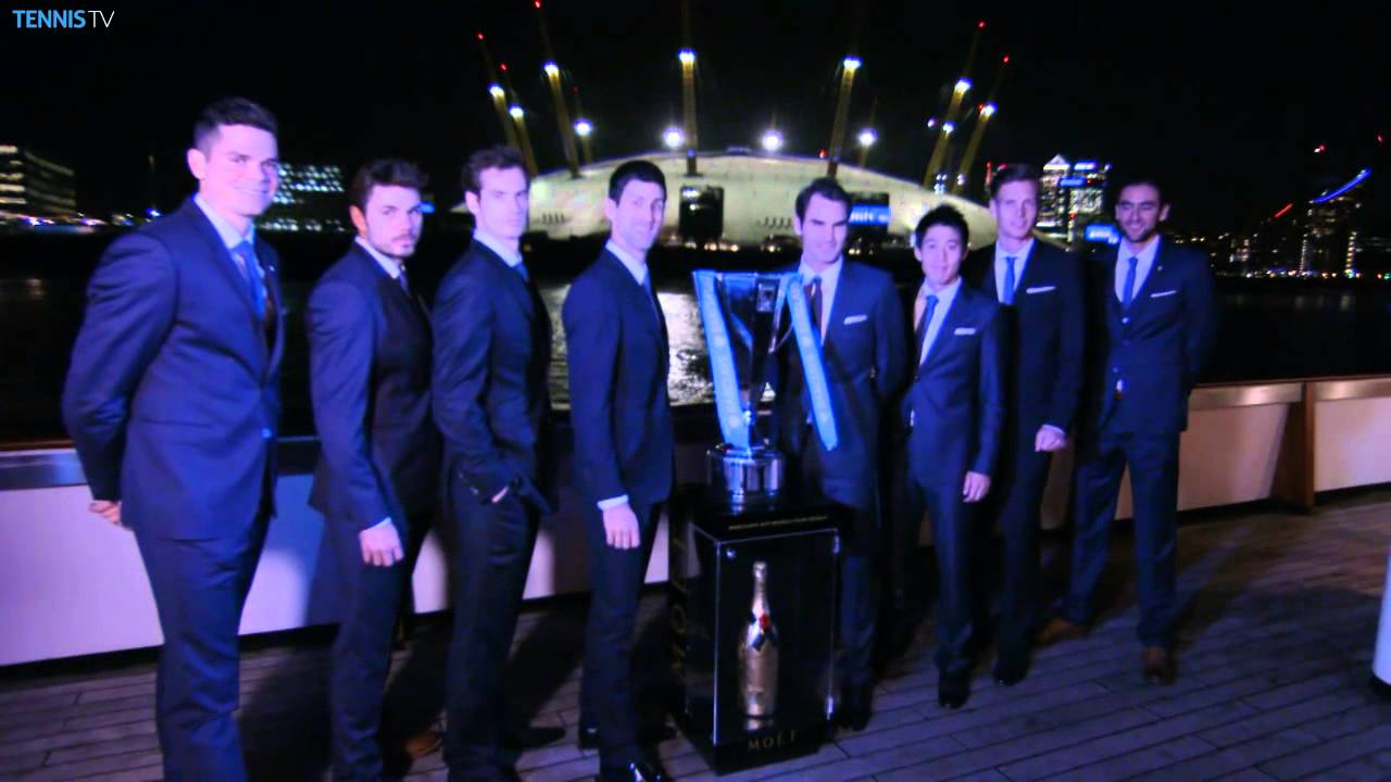 Barclays Atp World Tour Finals 2014 Official Launch Youtube