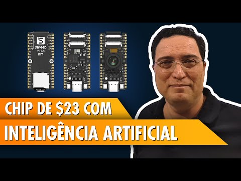 Chip de $23 com Inteligência Artificial