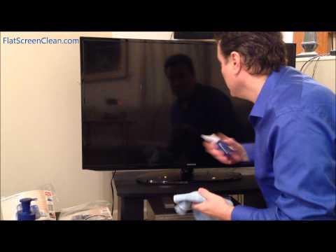 Flat Screen Clean™ Demo on a smart TV #FlatScreenCleaner #TouchScreenCleaner #ScreenCleaner