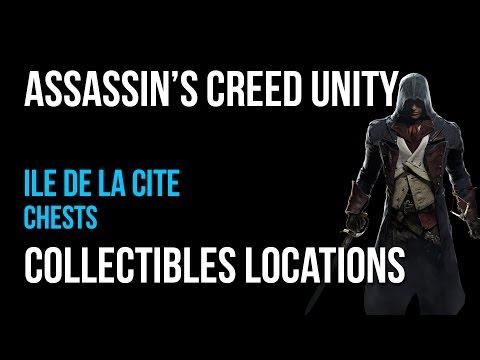 Assassin's Creed Unity Ile de la Cite Chests Collectibles Guide