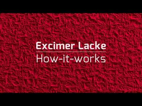 Excimer Lacke - How it works! (Deutsch)