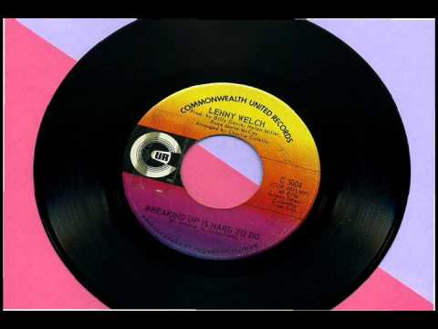 Lenny Welch - Breaking Up Is Hard To Do