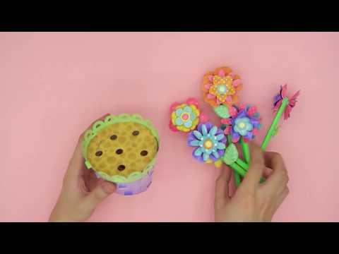 DIY Paper Flower Pot Art Kit - Craft Easy