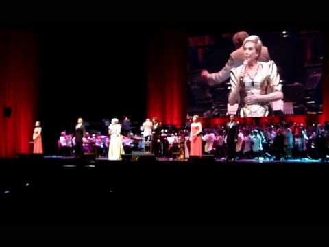 Getting to know you, Julie Andrews, London O2