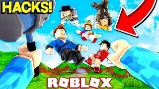 PLAYING ROBLOX AS A HACKER! (ROBLOX HACKER SIMULATOR)