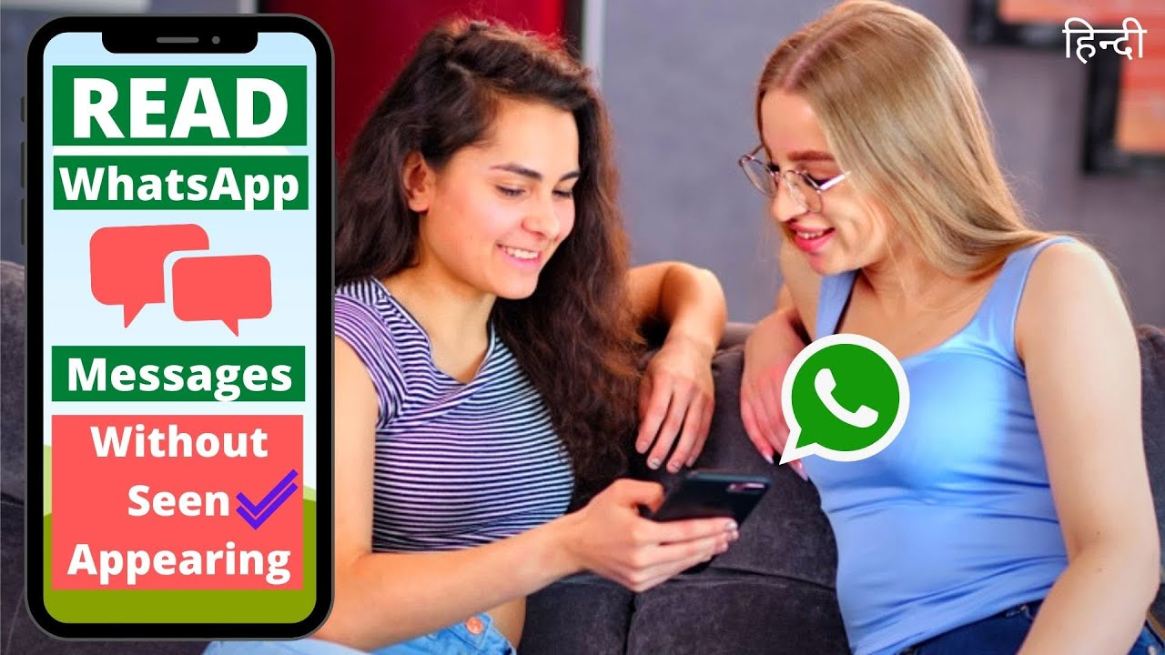 How to read whatsapp message with single tick (No double tick)