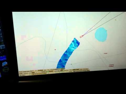 Olex and Multibeam sonar trial