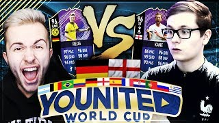 FIFA 18: YOUnited WORLD CUP HALBFINALE REALFIFA vs GAMERBROTHER!! 😍🇬🇧😱