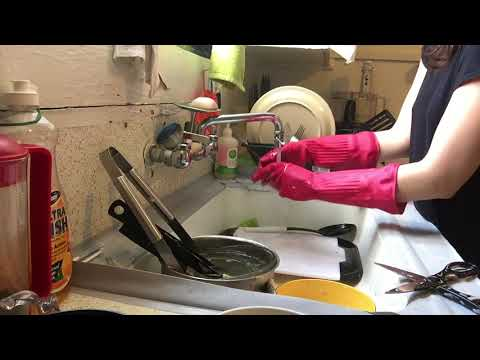 Washing & Cleaning Dishes : conflicted by coffee waste