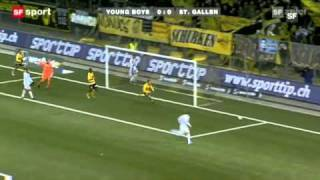 Young Boys - St. Gallen 1:1 12.12.10