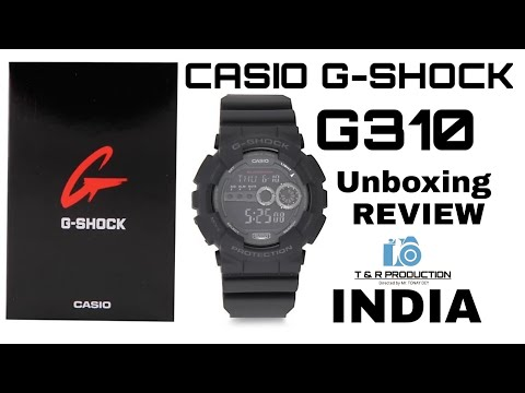 CASIO G-SHOCK G310 🔥 WATCH || UNBOXING and REVIEW 2019 ||