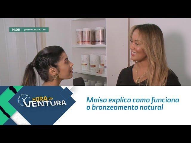 Blitz do Carnaval: Maísa explica como funciona o bronzeamento natural - Bloco 01