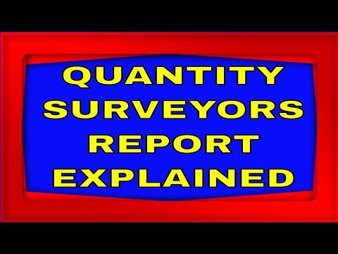 #investing #propertydevelopment QUANTITY SURVEYOR REPORT EXPLAINED