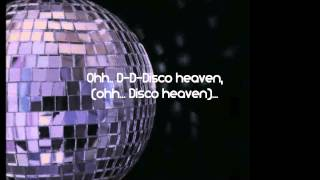 Lady Gaga   Disco Heaven lyrics   Lyrics on screen