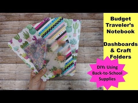 budget-traveler's-notebook-dashboard-with-pockets- -school-supply-diy