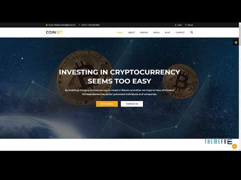 CoinJet Bitcoin And Crypto Currency HTML Template        Shaun Messia