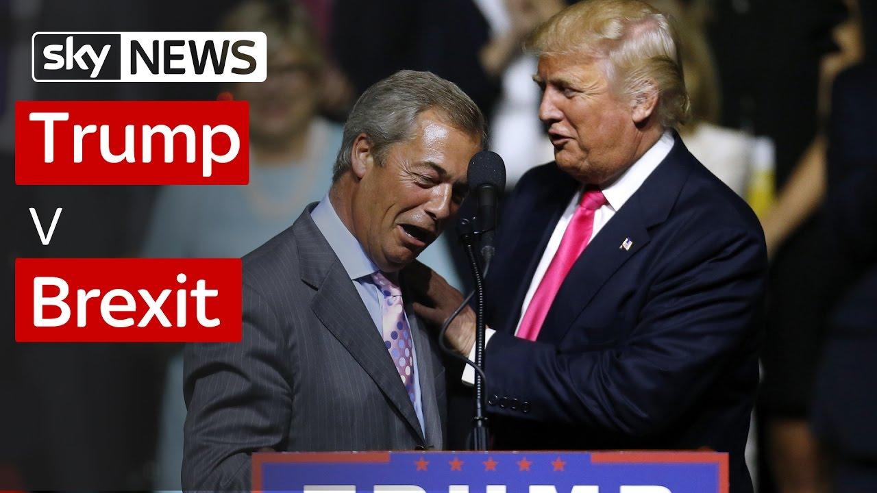 Brexit News: Trump V Brexit