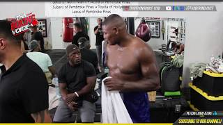 🔴Luis Ortiz In Miami Camp For Kauffman Fight on Wilder vs Fury card🥊