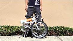 How to Fold and Unfold a MOBIC City X7 Folding Bike