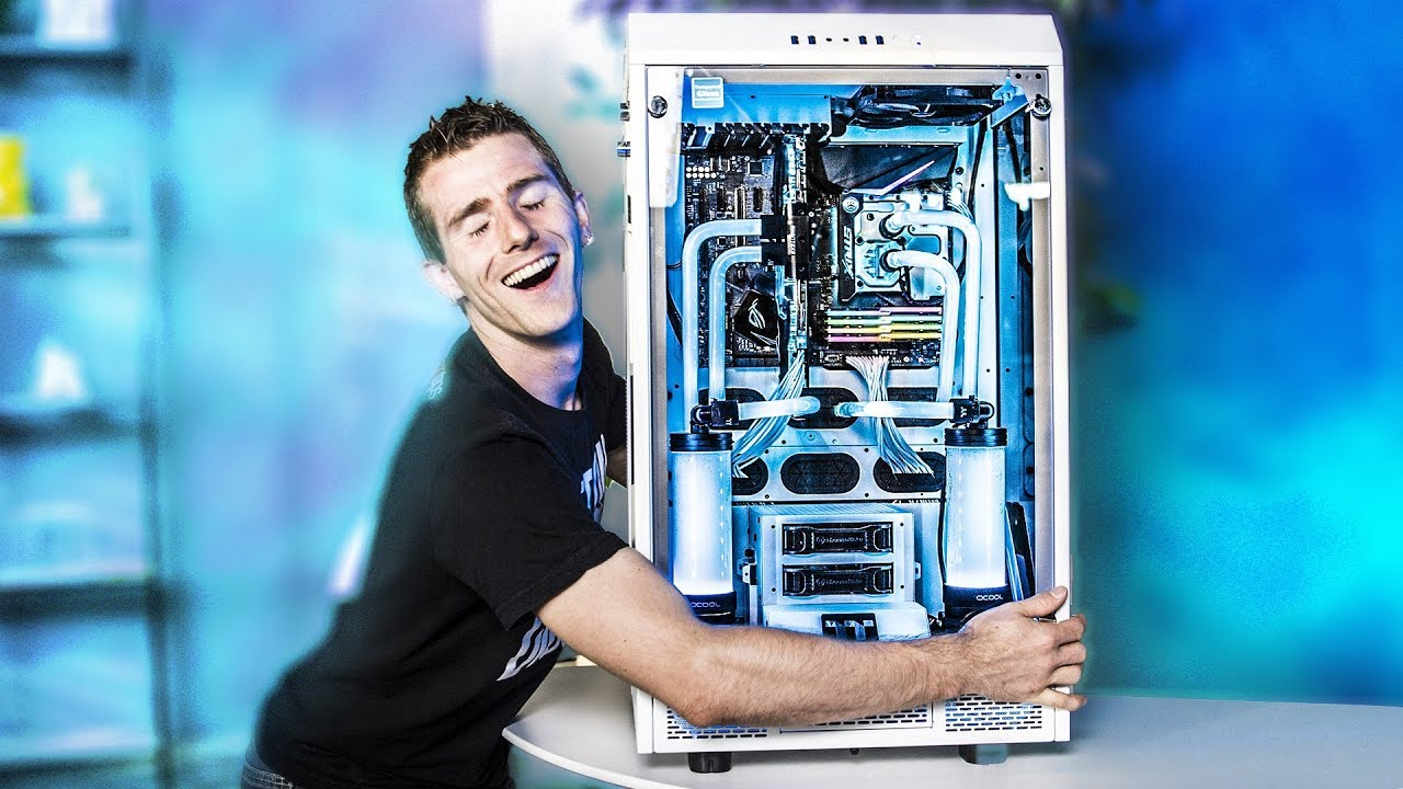 Fully Rgb Water Cooling Even The Fittings Youtube
