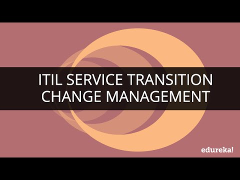 ITIL® Service Transition : Winning with Change Management | Edureka