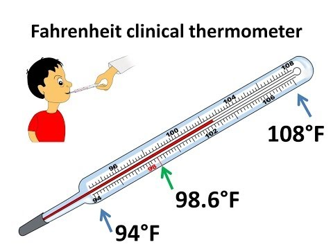 Science - What is temperature and how to measure it - English