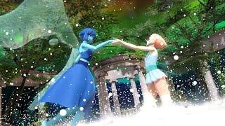 [Animation] Pearl and Lapis Lazuli FUSION - Aquamarine [MMD]