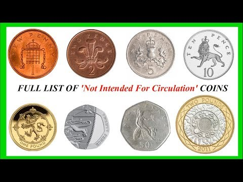 UK NIFC FULL  LIST || DECIMAL COINS || ROYAL MINT || 2018 VIDEO