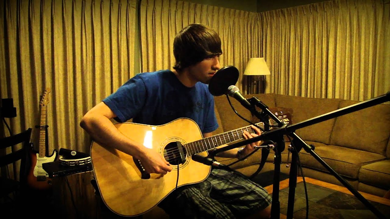 Linkin Park Castle Of Glass Acoustic Cover By Drew Youtube