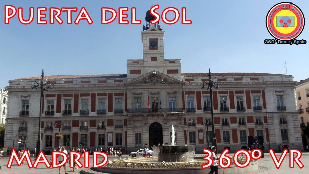 Puerta del sol madrid 360 vr youtube for Centro oftalmologico puerta del sol