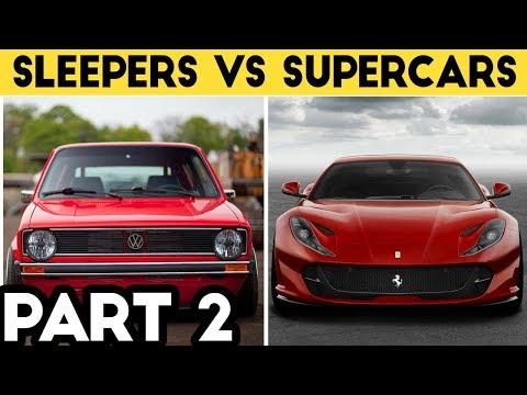 BestOf Sleepers Vs Supercars Compilation 2018
