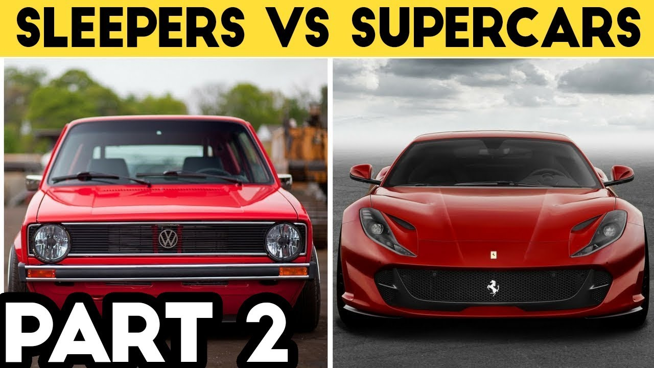 BestOf Sleepers vs Supercars Compilation 2018 - YouTube on