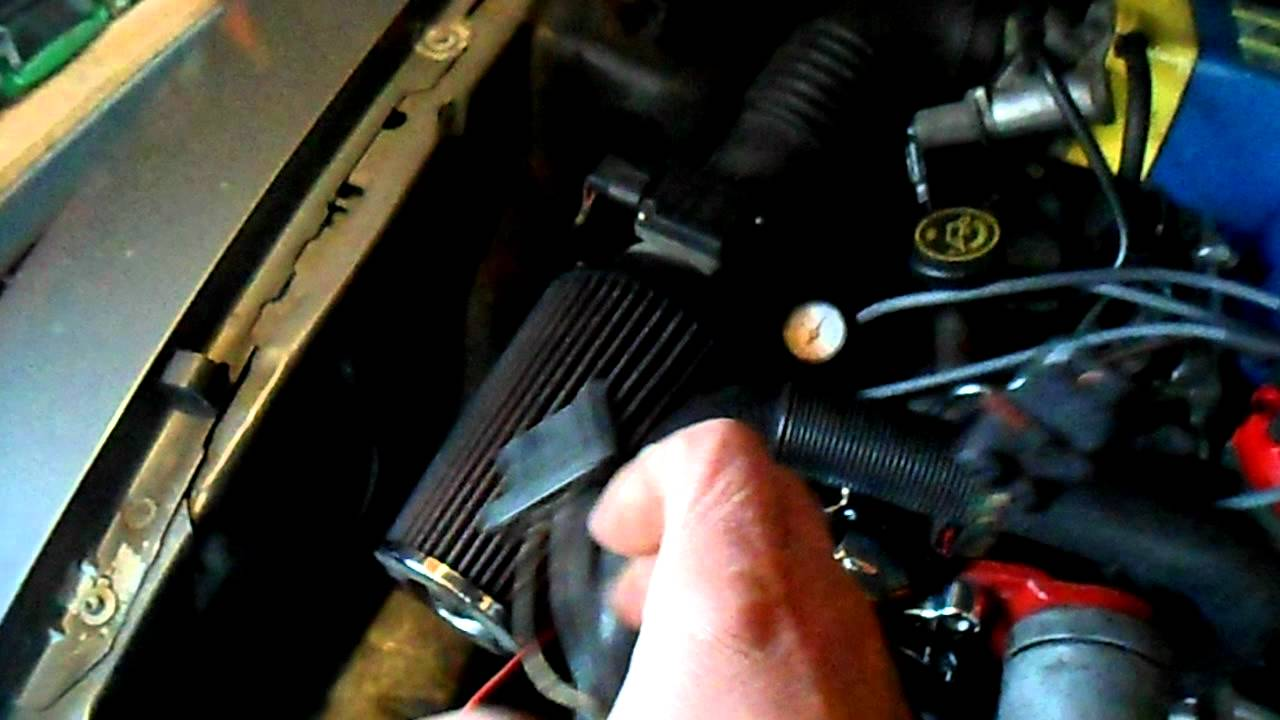 tuff stuff one wire chrome alternator for 1987 thru 1993 mustang 5 0 [ 1280 x 720 Pixel ]