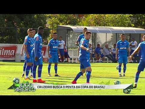 Cruzeiro Treina De Olho Na Decisão Da Copa Do Brasil