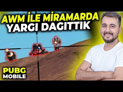 MİRAMAR VE AWM ÖZLEMİŞİM / PUBG MOBILE