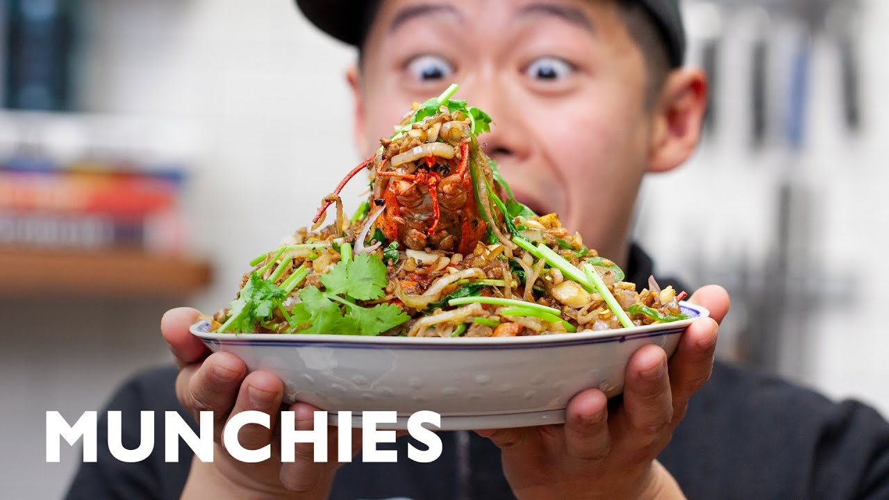 Typhoon Shelter Lobster with Fried Pork - How To