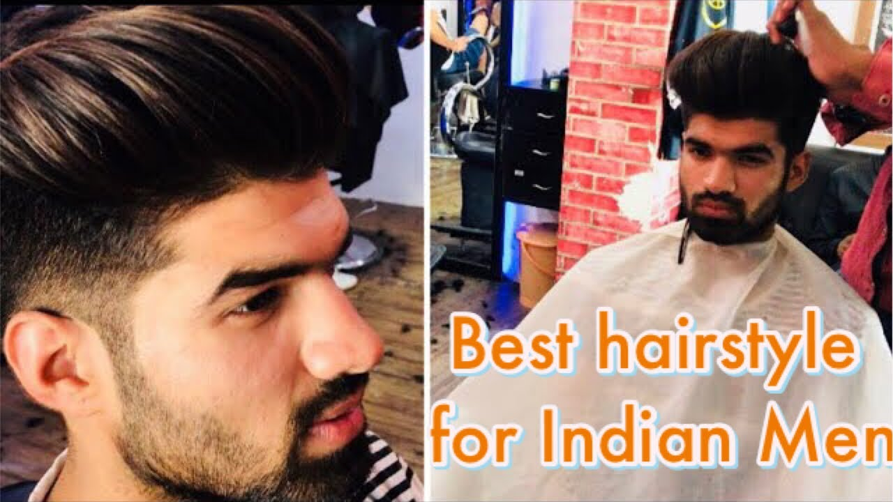 Messy Volume Quiff Haircut And Style Best Hair Style For Indian