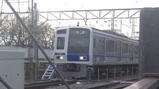 西武鉄道6107F 玉川上水LCD交換入場?回送到着