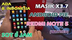 Install ROM MASIK F Android Pie di Xiaomi Redmi Note 5 (Custom ROM
