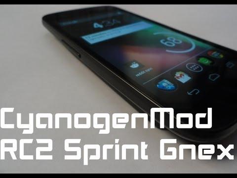 [ROM] CyanogenMod RC2 Sprint Galaxy Nexus Review