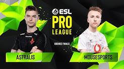 CS:GO - Astralis vs. mousesports [Train] Map 1 - Semifinals - ESL Pro League Season 10 Finals