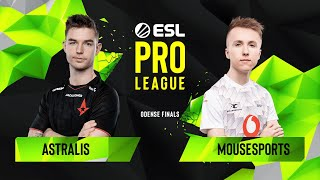 CS:GO - Astralis vs. mousesports [Train] Map 1 - Semifinals - ESL Pro League Season 10 Finals