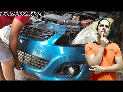 How To Remove | Replace Maruti Suzuki Swift Dzire Front Bumper