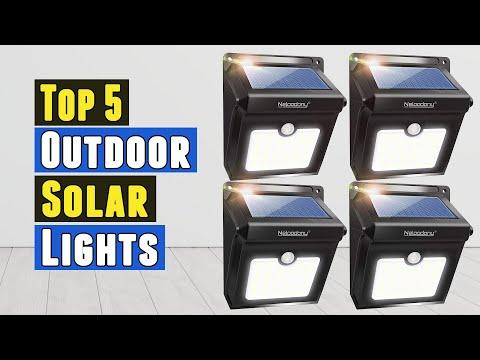 Top 5 Best Outdoor Solar Lights 2021