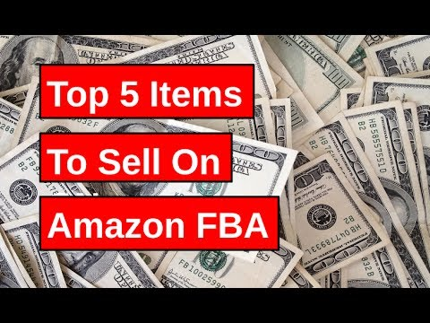 items to sell on amazon